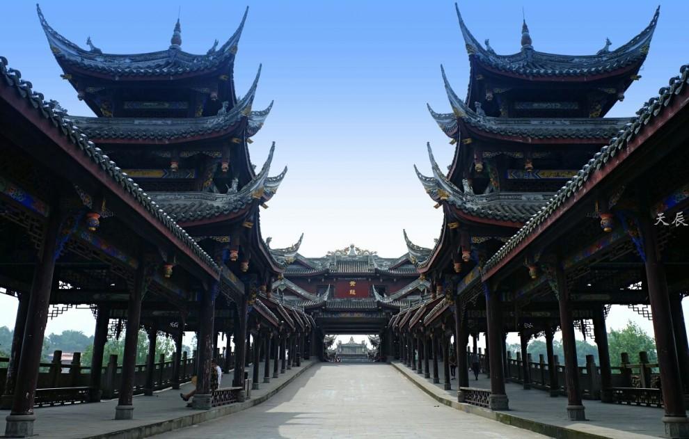 黄龙溪古镇1