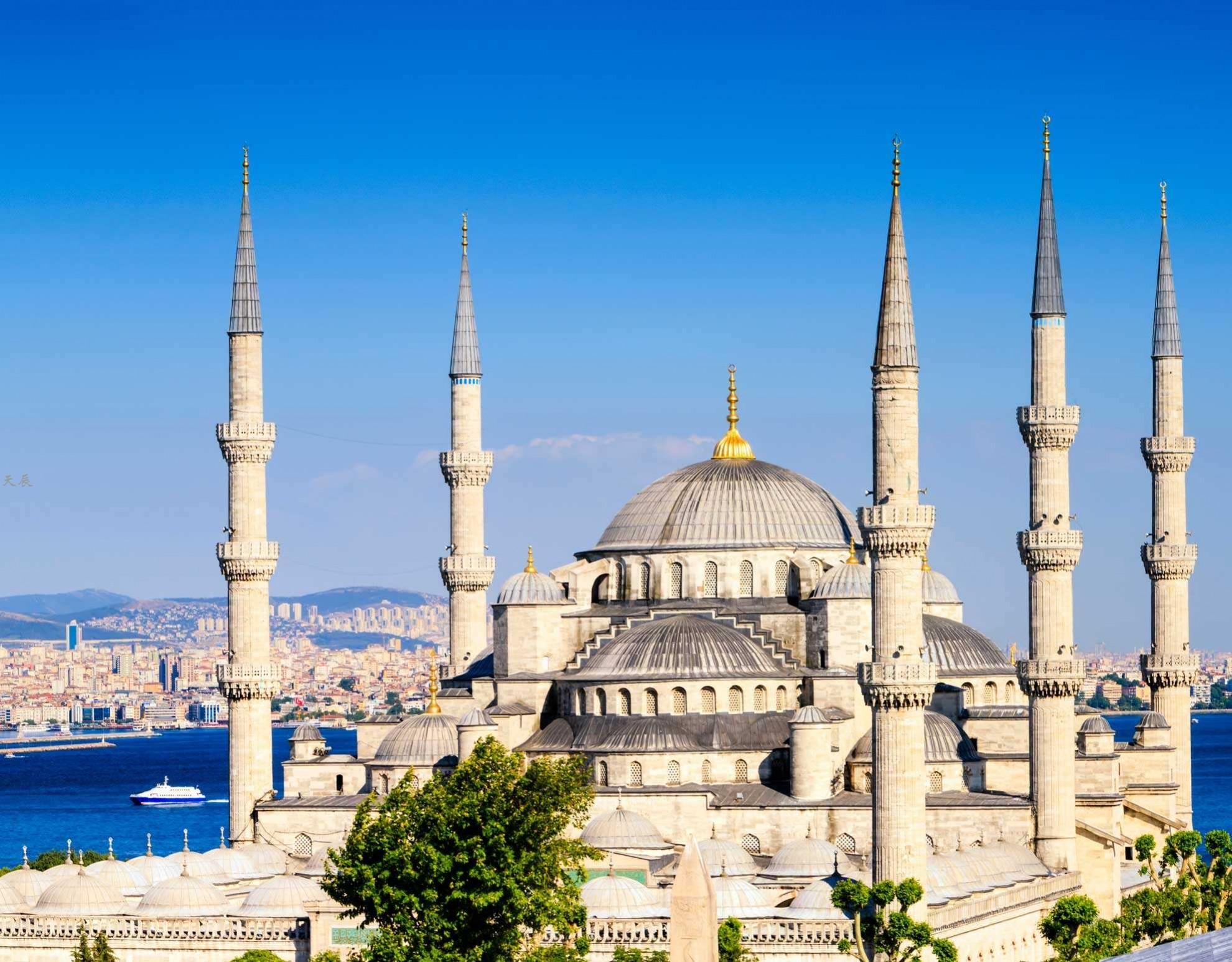 伊斯坦布尔蓝色清真寺1