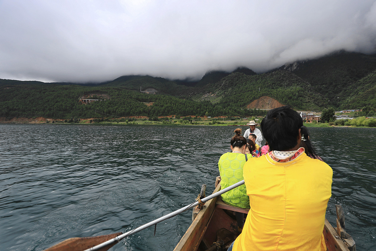 西昌邛海、泸沽湖摄游纪实之(11)—泸沽湖环湖游