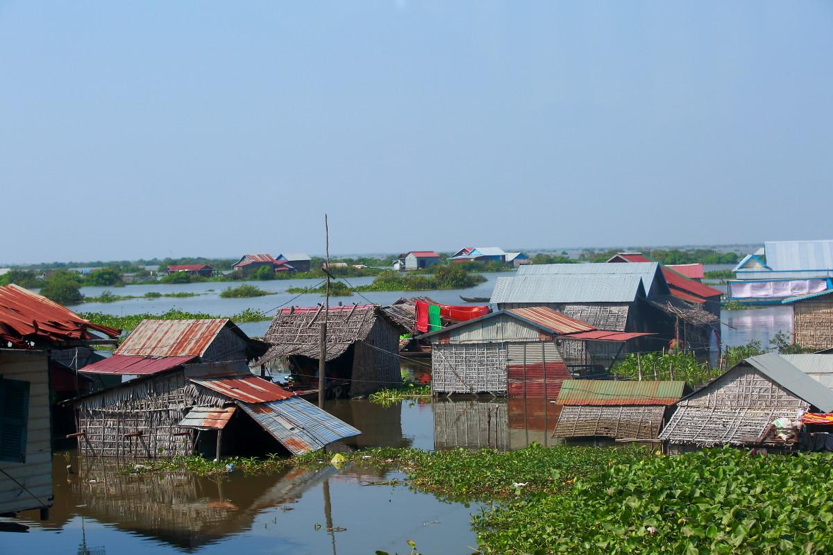 流泪的洞里萨湖----柬埔寨旅游纪实