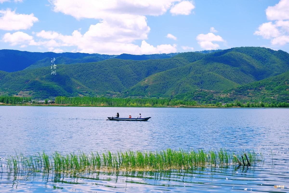宝石蓝--泸沽湖