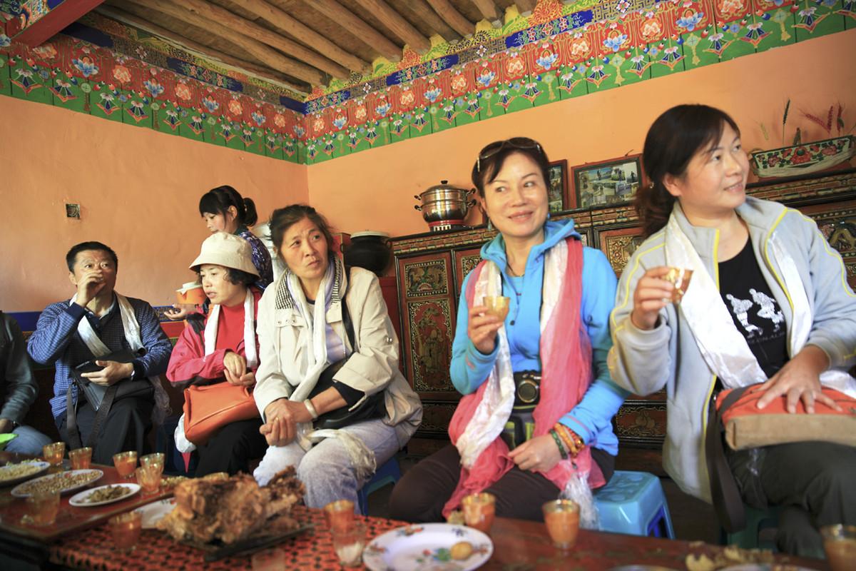 西藏之行之十六-----藏民家访