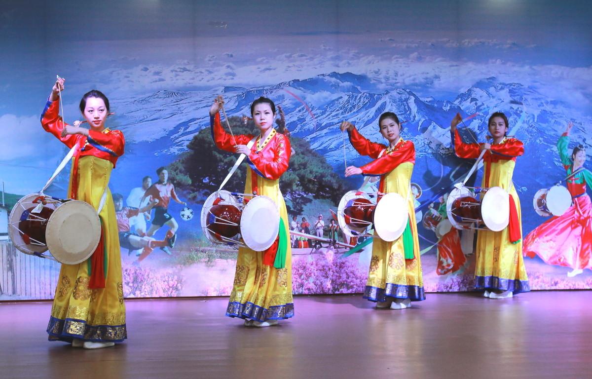 朝鲜族歌舞表演