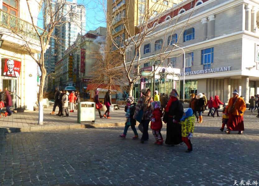 哈尔滨--圣.索菲亚教堂和中央大街