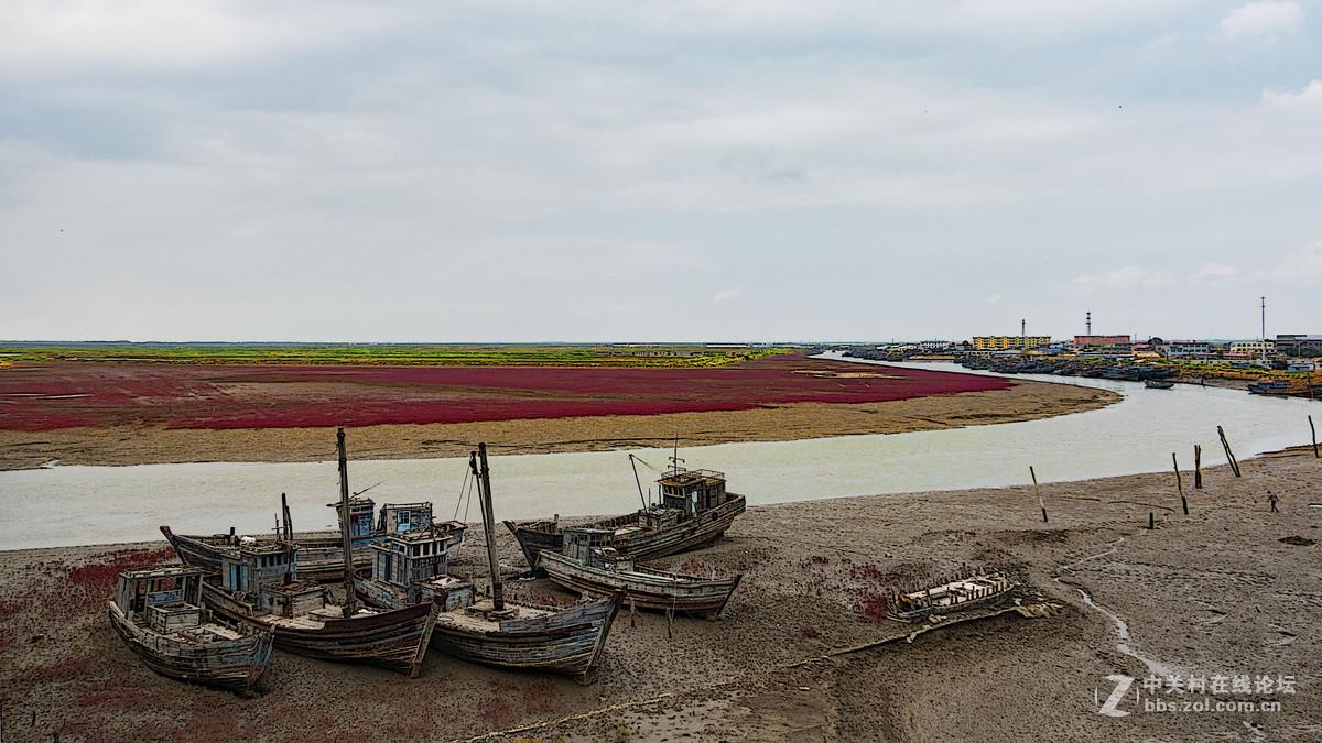 秋季盘锦红海滩-SONY RX100M4试拍风景