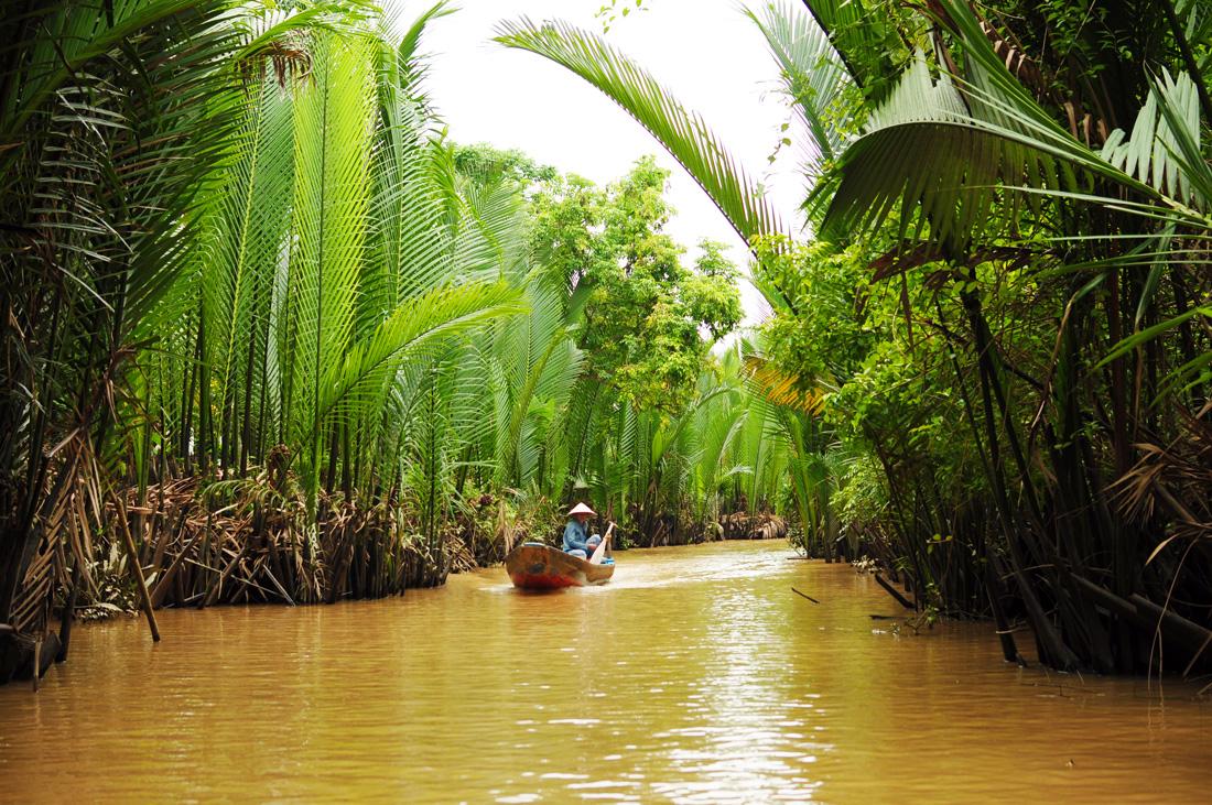 湄公河三角洲之美托