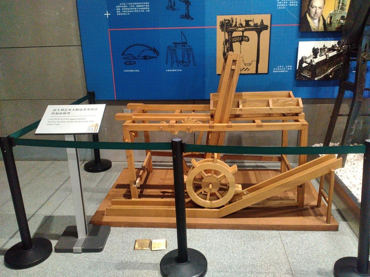 中国工业博物馆 机床馆