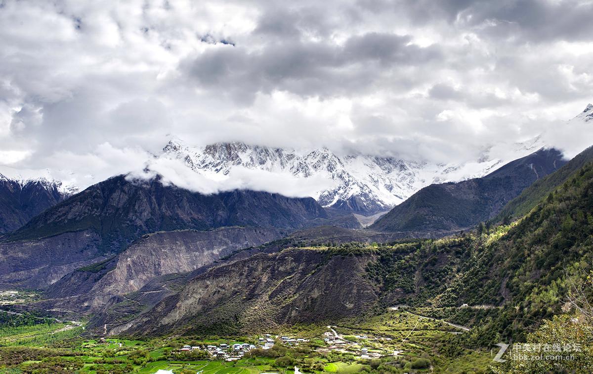 西藏雅鲁藏布江大峡谷风光掠影