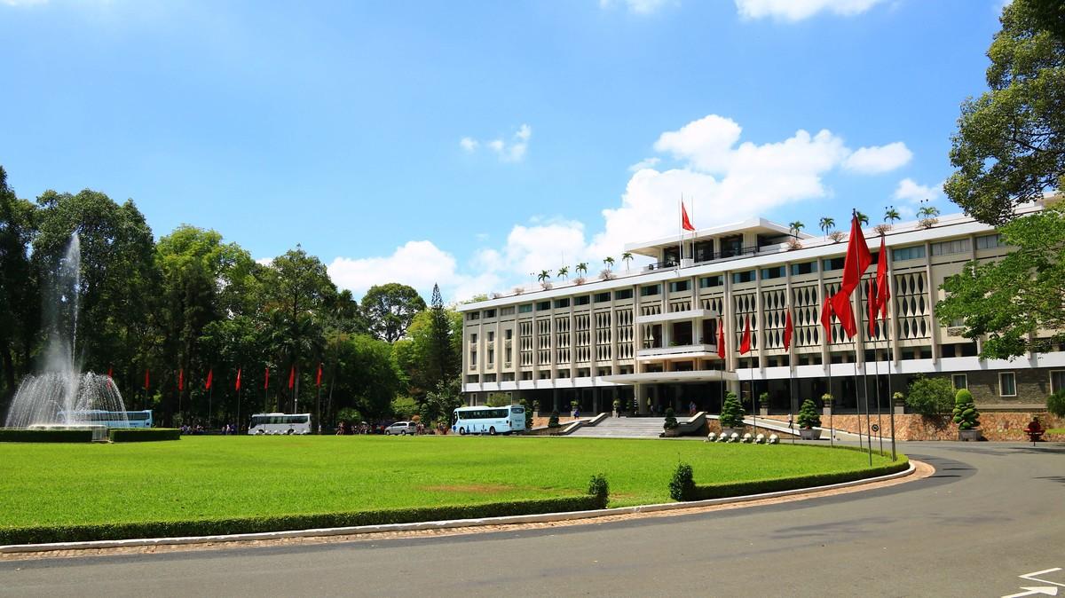 越南胡志明——从总统府到红教堂