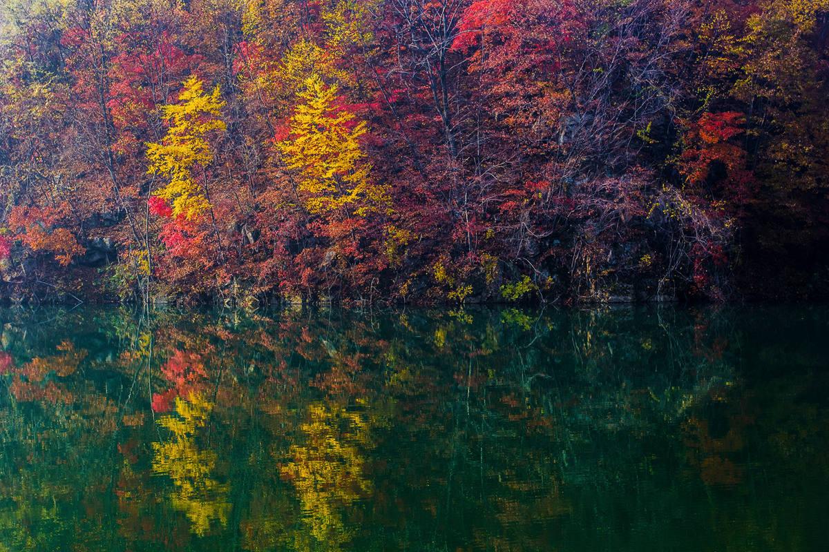 天桥沟的秋色