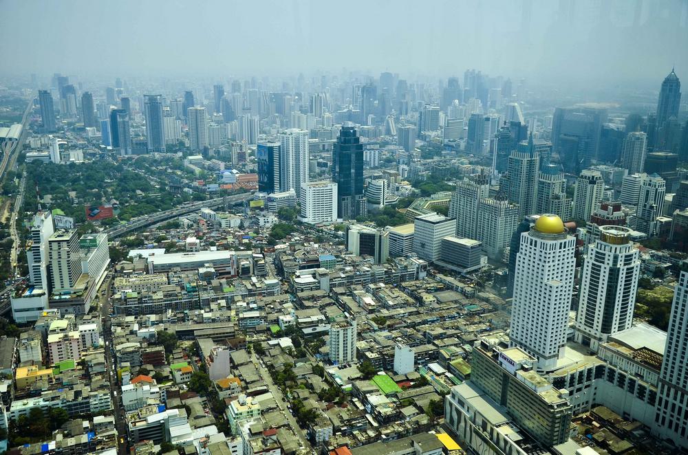 俯瞰曼谷城