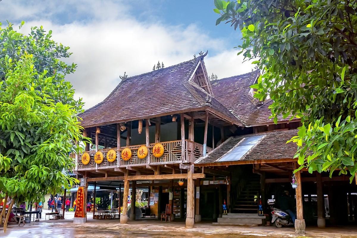 云南景洪:西双版纳傣族园