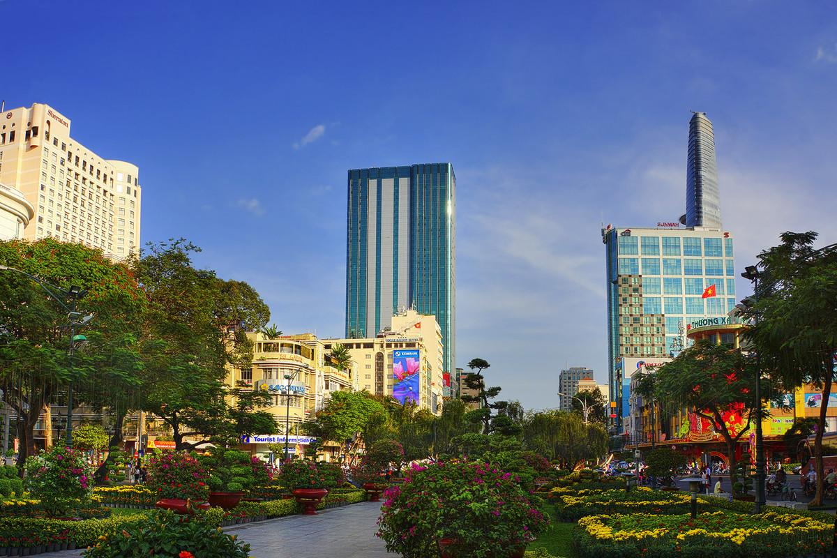 胡志明市(西贡)街景