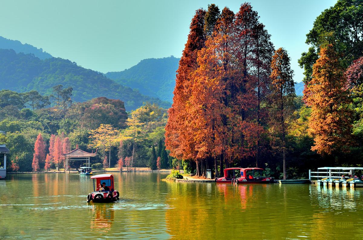 广州白云山的秋色