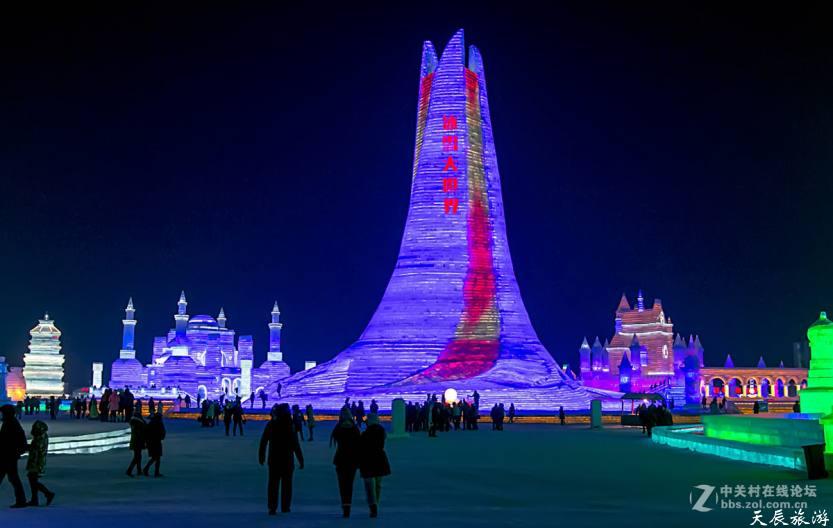 佳能24-105F3.5镜下的哈尔滨冰雪大世界